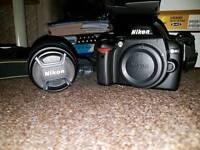 Nikon D40 with 18-55mm lens