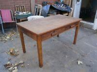 antique desk beautiful finish £70