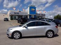 2014 Chevrolet Cruze 1LT LOADED, REAR CAM, XM RADIO, AC, CD