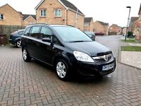 BLACK VAUXHALL ZAIRA EXCLUSIVE, MOT 13 MONTHS, JUST SERVICED, 2 KEEPERS, HPI CLEAR