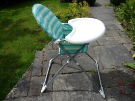 Highchair Oslo Marine Mothercare Very Good condition