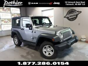 2015 Jeep Wrangler SPORT | MANUAL | 3 PC FREEDOM HARD TOP