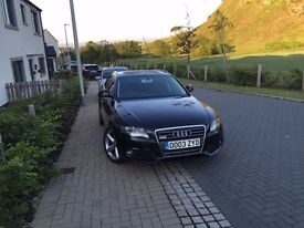 AUDI A4 ESTATE BLACK 58 PLATE 70000 MILES VERY GOOD CONDITION