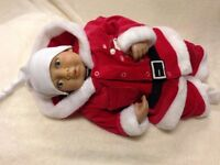 "Reborn Christmas Baby Doll "" Jack "" Realistic Newborn Lifelike"