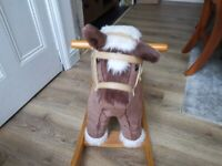 Pre loved rocking horse-free