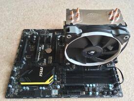 i5 2500k MSI Z77 MPower motherboard 16GB Ram bundle Coolermaster Hyper 212 EVO