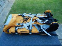 65 litre Rucksack in yellow