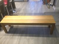 Kitchen oak bench