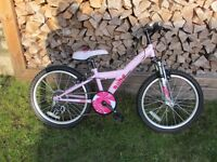 "Girls Apollo Kinx 6 Speed BMX Bike 20"" Aged 6-10"