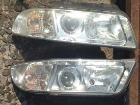 audi a4 projecter style headlights