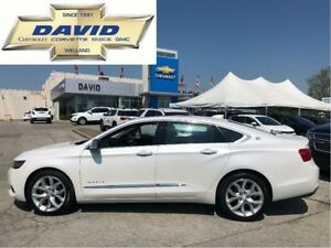 2017 Chevrolet Impala PREMIER 2LZ/ LEATHER/ SUNROOF/ REAR CAM!!