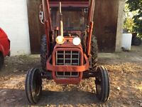 Second hand Loader tractor case international 444