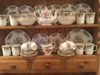 Colclough Royal Dinner/tea service, beautiful.