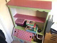 Vertbaudet kids book shelve/toy box