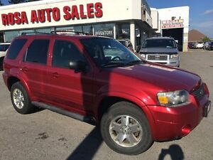 2006 Ford Escape 4X4 Limited Auto 4WD PW PL PM SAFETY E TEST