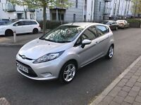 Ford Fiesta 1.2 Petrol 2010 with 1 Year MOT / Low Mileage Fully Loaded