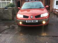 Renault Megane low mileage with full service history