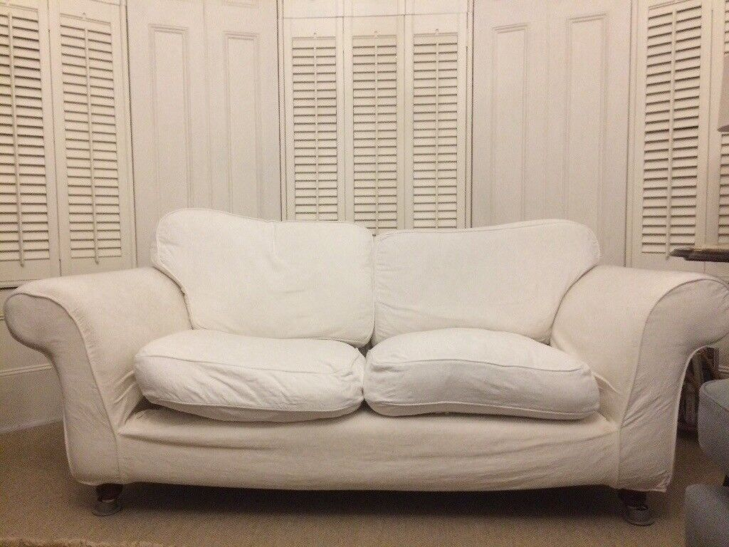 Two Cream Sofas Free On Collection