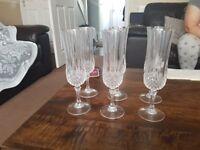 24 lead crystal glasses
