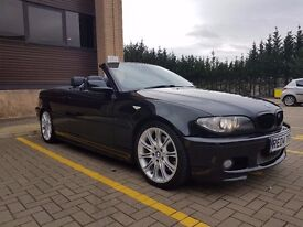 2004 BMW 330 CI CONVERTIBLE SPORT BLACK/HARMON KARDON/HEATED SEATS/DAB RADIO