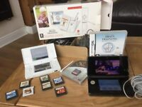 Black 3ds and games