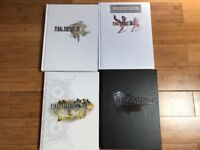 FINAL FANTASY OFFICIAL STRATEGY GUIDES 4 in all