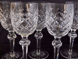 Large Waterford Crystal Powerscourt Glasses