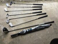 Golf clubs and golf bag forcsale