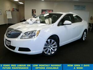 2015 Buick Verano Prl White Leather/Bluetooth/Alloys &ABS
