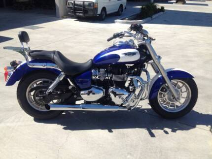 TRIUMPH AMERICA 08/2012 MODEL PROJECT NEGOTIABLE Campbellfield Hume Area Preview