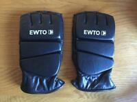 EWTO Leather gloves boxing MMA Grappling Martial Arts Sparring