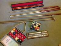 Snooker set