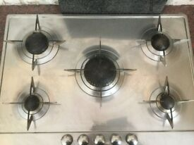 Smeg Gas Hob and Smeg Electric Double oven with grill s/s good condition