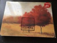 Inspire Scarlet Meadows set of six Placemats - Brand new