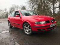 ONLY 65k FSH!!! 2005 SEAT LEON 1.8 SE 20V RED 5 DOOR IMMACULATE CONDITION