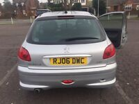 Peugeot 206 perfect run around or first car low mileage