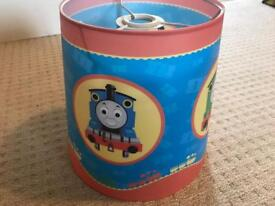 Thomas the tank ceiling light shade