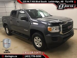 Used 2015 GMC Canyon 2WD Crew Cab-Remote Start, Onstar 4G LTE