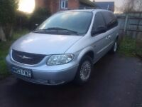 Chrysler Grand Voyager 2003 2.5 CRD 7 seater 12 months mot