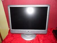 "22"" HP desktop monitor"