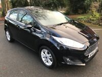 Incredible 1502 Miles Only 2016 66 Fiesta 1.0 Eco-Boost Zetec 5 Dr Hatch Like NEW! Great Spec Cat D