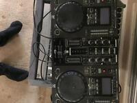Dj twin CD player mixer