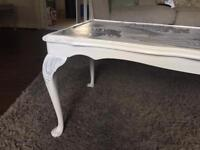 Bespoke upcycled coffee table