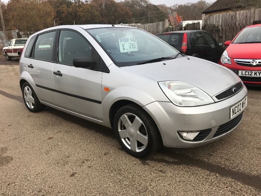 2002 02 reg ford fiesta 1.4 finesse,1 FULL YEAR MOT,just fully serviced