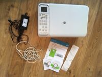 HP C4180 Photosmart All-in-One Printer, Scanner & Copier + power adapter, USB cable & setup discs