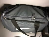 Medium Grey Nike duffel bag