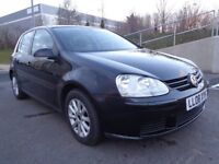 2008 VOLKSWAGEN GOLF AUTOMATIC PETROL ,LOW MILES,ONLY 50,000MILES,GOOD RUNNER ,WARRANTY PROVIDED