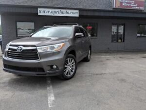 2015 Toyota Highlander XLE NAVIGATION CUIR TOIT PANORAMIQUE
