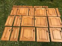 Solid wood kitchen cabinet doors