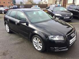 AUDI A3 1.6 TDI SPORT, 2012 **DRIVE AWAY TODAY FROM £42 A WEEK** golf seat audi bmw mercedes kia